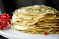 green-crepe-cake