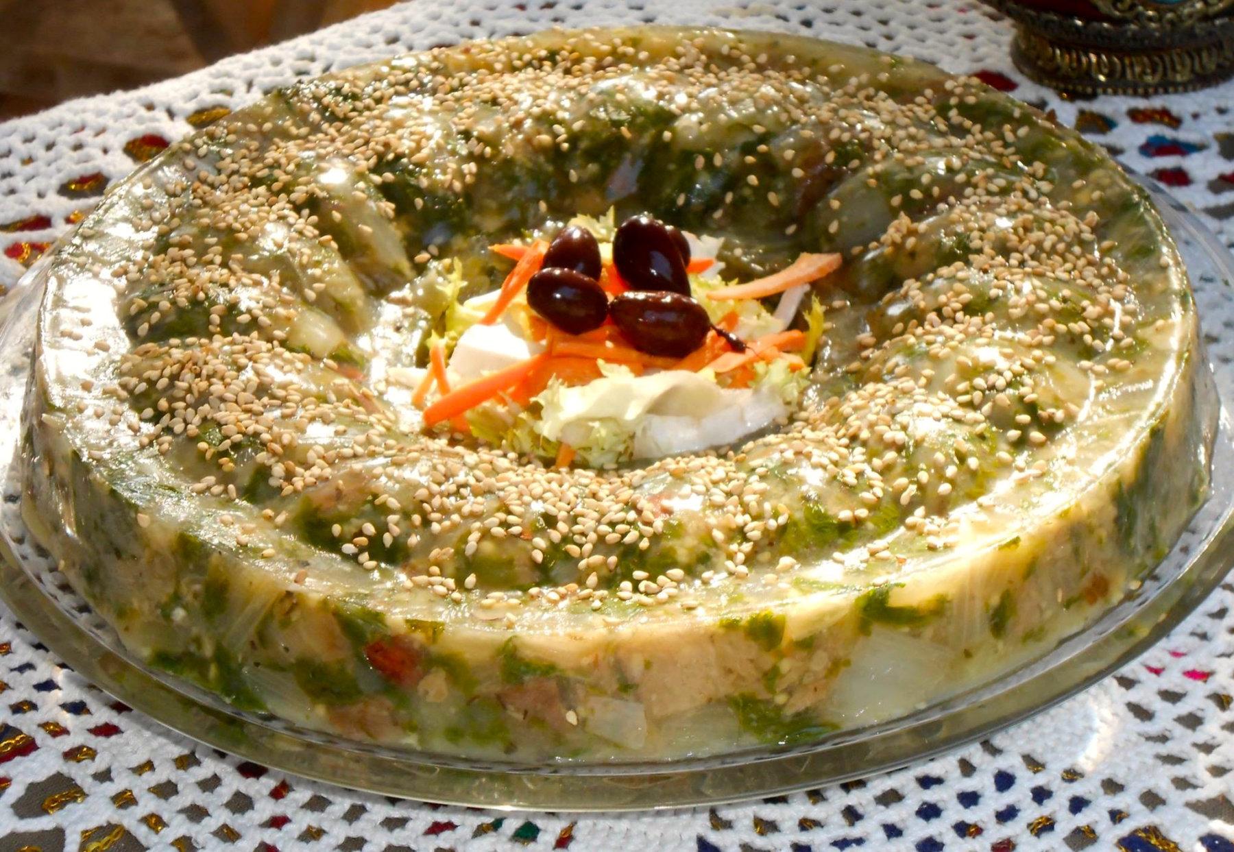 Puding Jardinera, una de las recetas que se preparan en las clases de cocina macrobiótica y depurativa de la Botica Natural.